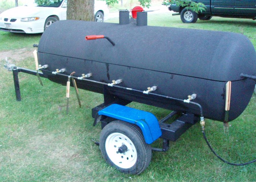 Homemade Mobile Smoker Barbecue Grill | eHow.co.uk