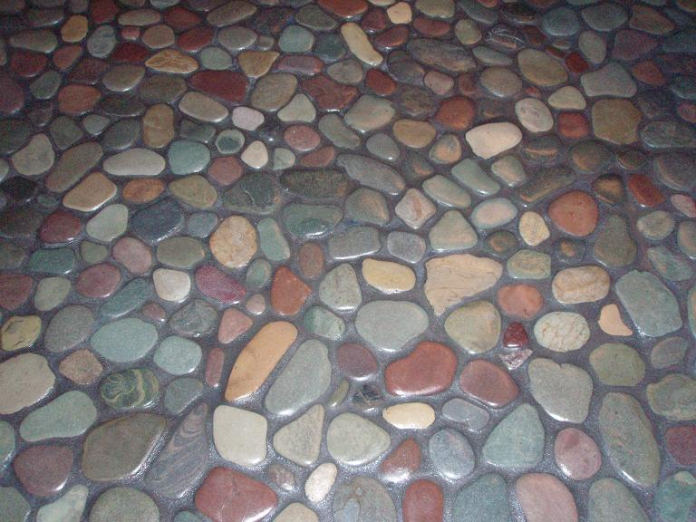 Pictures Of River Rock Tile Flooring